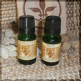 Boswellia Sacra Frankincense and Myrrh Essential Oil